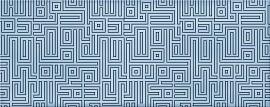 Декор Nuvola Aqua Labirint 50,5x20,1