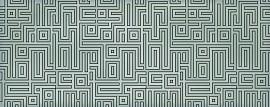 Декор Nuvola Verde Labirint 50,5x20,1