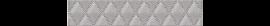 Бордюр Illusio Grey Geometry 31,5*6,2