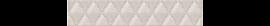 Бордюр Illusio Bianco Geometry 31,5*6,2