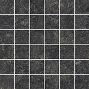 610110000426 Room Stone Black Mozaico 30x30