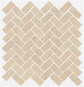 620110000096 Room Stone White Mozaico Cross 31.5X29.7X10