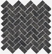 620110000099 Room Stone Black Mozaico Cross 31.5X29.7X10