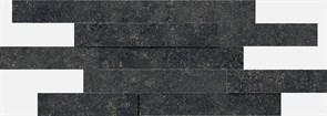 620110000103 Room Stone Black Mozaico Brick 3D 28X78