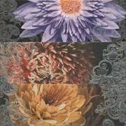 Composicion 2210 Lila Turquesa Marengo Garden 3 67,5x67,5