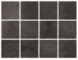 1222 Караоке черный, полотно 30х40 из 12 частей 9,9х9,9