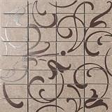 DP168\012 Декор Фьорд табачный светлый мозаичный