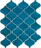 65007 Арабески Майолика синий 26х30 - фото 68108